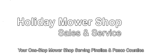 Holiday Mower Shop